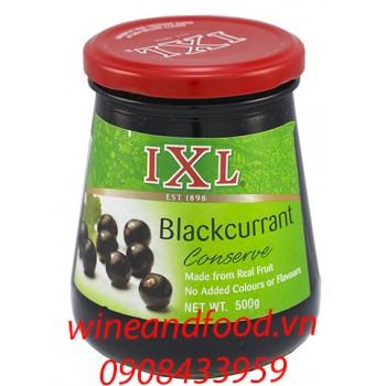 Mứt blackcurrant IXL 500g