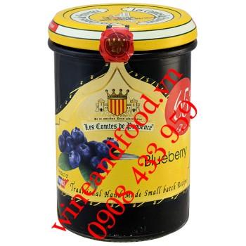 Mứt Blueberry Les Comtes De Provence 240g