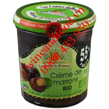 Mứt Hạt Dẻ Crème de Marrons Les Comtes De Provence 320g