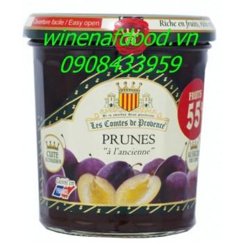 Mứt mận Les Comtes De Provence 370g