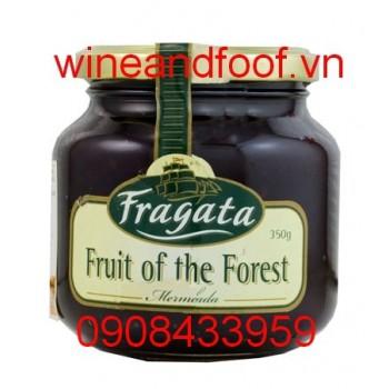 Mứt trái cây rừng Fragata 350g