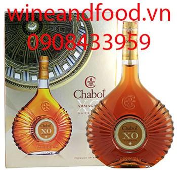 Rượu Armagnac Chabot XO hộp quà