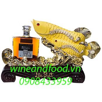 Rượu Brandy Bonac XO con cá