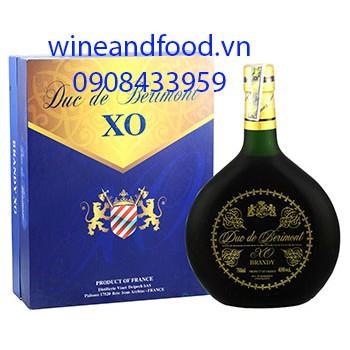 Rượu Brandy Duc De Berimont hộp quà