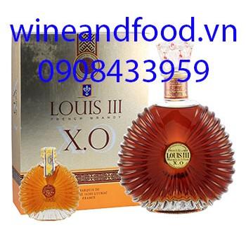 Rượu Brandy Louis III XO hộp quà