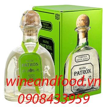 Rượu Tequila Silver Patron 750ml