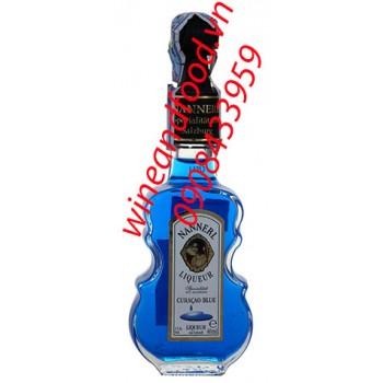 Rượu mini cây đàn Curacao Blue