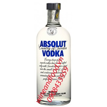 Rượu Vodka Absolut 750ml