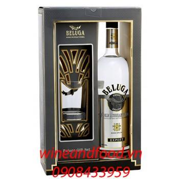 Rượu Vodka Beluga hộp quà 1l