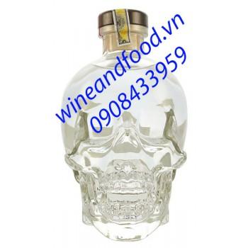 Rượu Vodka đầu lâu Crystal Head 750ml