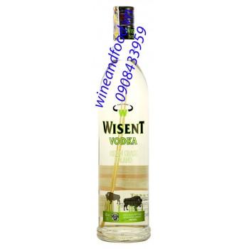 Rượu Vodka Wisent Bison Grass 700ml