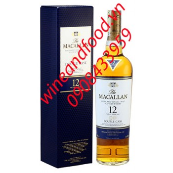 Rượu Macallan Double Cask 12 năm