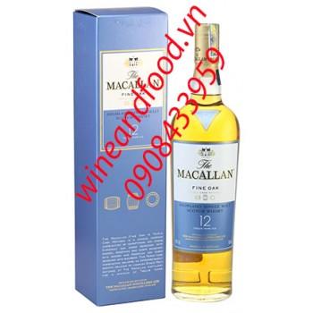 Rượu Macallan Fine Oak 12 năm