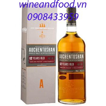 Rượu Whisky Auchentoshan 12 năm