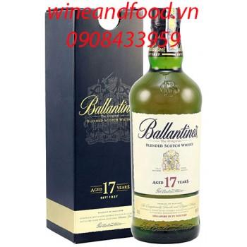 Rượu Whisky Ballantine's 17 năm