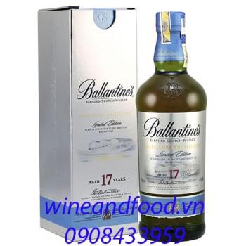 Rượu Whisky Ballantine's 17 năm Limited Edition