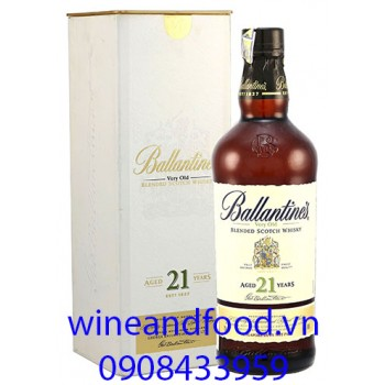 Rượu Whisky Ballantine's 21 năm