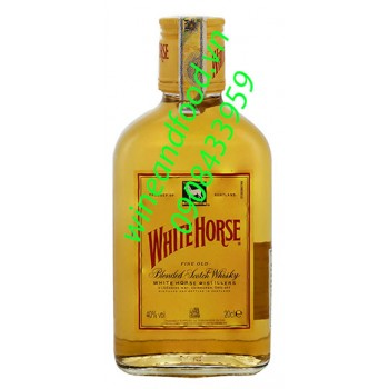Rượu Whisky White Horse 200ml