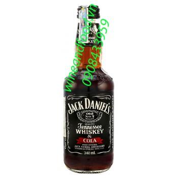 Rượu Jack Daniel's Cola 340ml