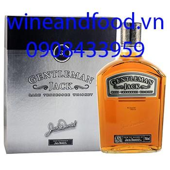 Rượu Whiskey Gentleman Jack Daniel's hộp quà