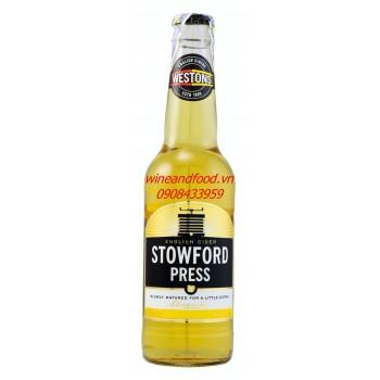 Bia trái cây hương táo Stowford Press 330ml