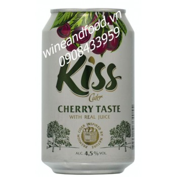 Nước táo lên men Kiss vị Cherry 330ml