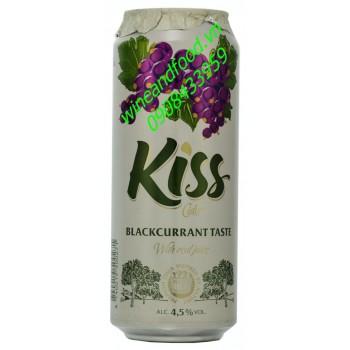 Nước táo lên men vị nho đen Kiss 500ml