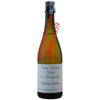Rượu táo Cider Calvados Christian Drouin 750ml