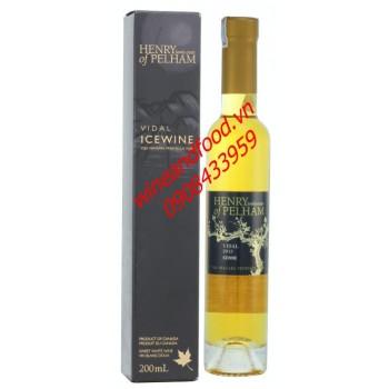 Rượu vang đá Icewine Vidal Henry of Pelham 200ml