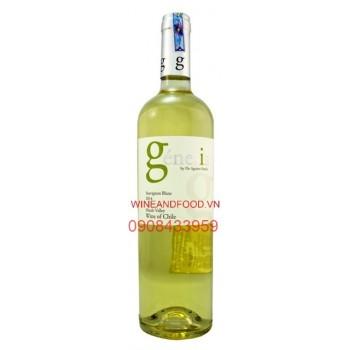 Rượu vang trắng Genesis Sauvignon Blanc