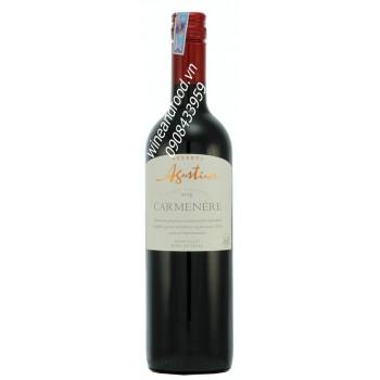 Rượu vang Agustinos reserva carmenere