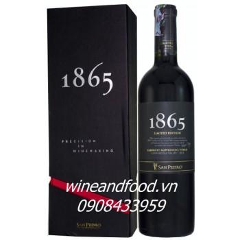 Rượu vang đỏ 1865 Limited Edition San Pedro 2011