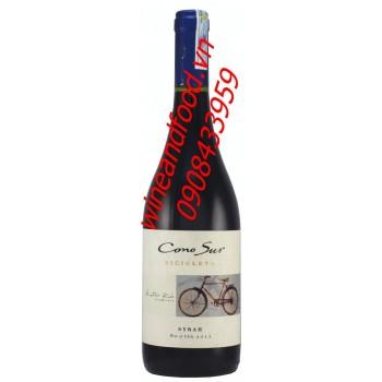 Rượu vang đỏ Cono Sur Bicicleta Syrah 2012