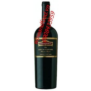 Rượu vang đỏ Errazuriz Don Maximiano 75cl