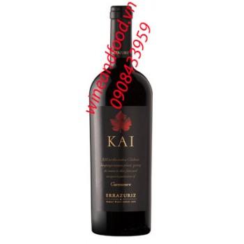 Rượu vang đỏ KAI Errazuriz 2014