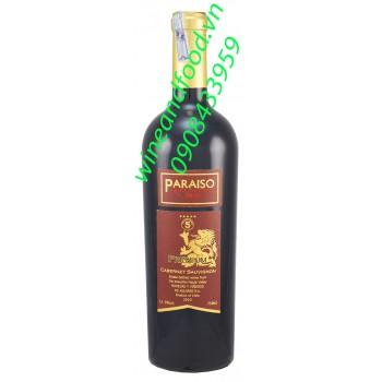 Rượu vang đỏ Paraiso Cabernet Sauvignon 750ml
