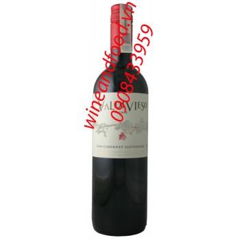 Rượu vang đỏ Valdivieso 2013