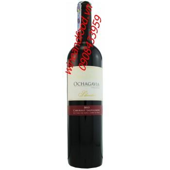 Rượu vang Ochagavia Silvestre Cabernet Sauvignon 2013