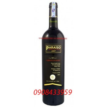 Rượu vang Paraiso Cabernet Sauvignon