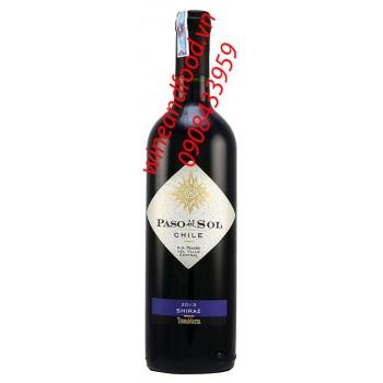 Rượu vang Paso Del Sol Shiraz