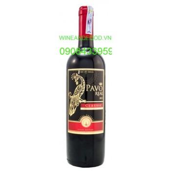 Rượu vang Pavo Real Classic