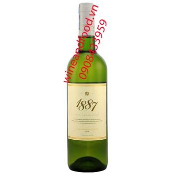 Rượu vang trắng 1887
