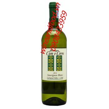 Rượu vang trắng Bodega Cien Y Cerro