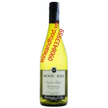 Rượu vang trắng Monte Y Rosa 2014
