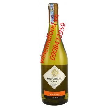 Rượu vang trắng Paso Del Sol Chardonnay