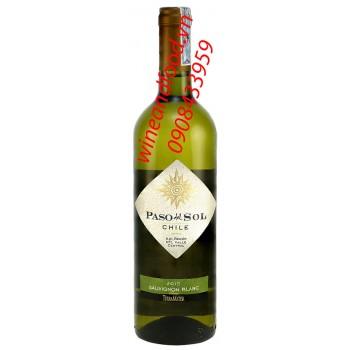 Rượu vang trắng Paso Del Sol Sauvignon Blanc