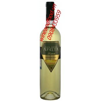Rượu vang trắng San Jose de Apalta Sauvignon Blanc