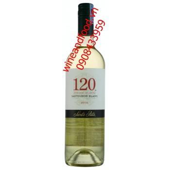 Rượu vang trắng Santa Rita 120 2014