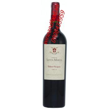 Rượu vang Villa Santa Marta 2013
