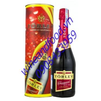 Rượu vang nổ Torley Charmant Rouge 750ml